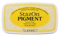 Tsukineko StazOn Pigment Ink Pad Lemon Drop - 1