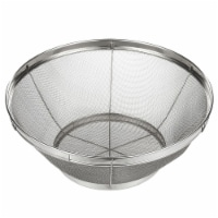 Stainless Steel Colander/ Strainer Basket for Kitchen - 10.25 x 4 Inches - Pack