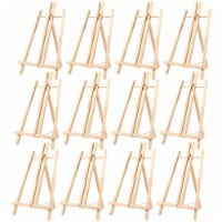 Wood Easels, Easel Stand for Painting, Art, and Crafts (9 x 14.8 in, 12 Pack) - Pack