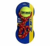 Petsport Fling Thing Tuff Balls Dog Toy