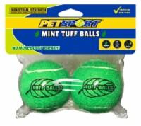 PetSport Tuff Balls Mint Dog Toys - Green