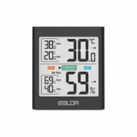 Baldr TH0135BL1 Thermo-Hygrometer with Backlight, Black - 1