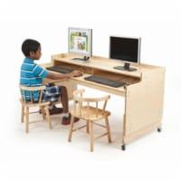 Adjustable Computer Desk - 1