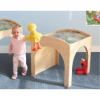 Whitney Brothers WB0504 Toddler Nature Reading Retreat, Natural UV