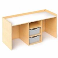 Stem Activity Desk With Trays - 1