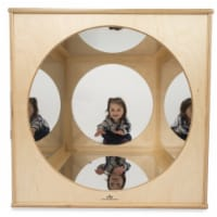Whitney Brothers WB1846 Kaleidoscope Play House Cube, Natural UV