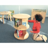 Two Level Book Carousel - 1