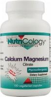 Nutricology Calcium Magnesium Citrate - 100 CT