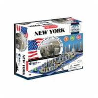 4D Cityscape New York USA Time Puzzle