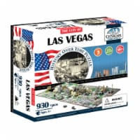 4D Cityscape Las Vegas USA Time Puzzle
