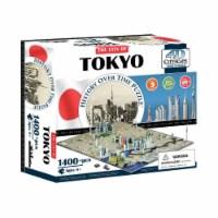 4D Cityscape Tokyo Japan Time Puzzle