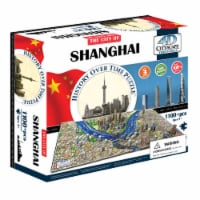4D Cityscape Shanghai China Time Puzzle