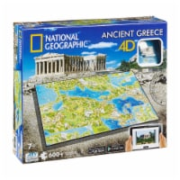 4D Cityscape National Geographic Ancient Greece Time Puzzle