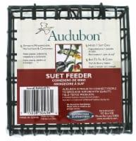 Audubon Single Suet Cage Feeder - Black
