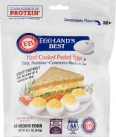 Eggland's Best Grade AA Hard-Cooked Peeled Medium Eggs - 10 ct