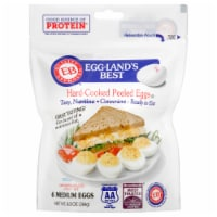 Eggland's Best Cage Free Hard Cooked Peeled Eggs - 9.3 oz