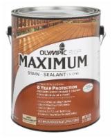 Olympic® Maximum Semi-Transparent Semi-Gloss Redwood Natural Tone Deep Base Acrylic Stain + Sealant - 1 gal