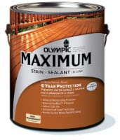 Olympic® Maximum® Neutral Base Semi Transparent Stain and Sealant - 1 gal
