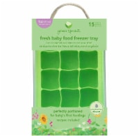 Green Sprouts  Fresh Baby Food Freezer Tray Green
