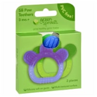 Green Sprouts Paws Silicone Teether