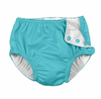 i play  Snap Reusable Absorbent Swimsuit Diaper 24 Months - Aqua