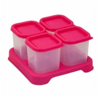 Green Sprouts  Fresh Baby Food Unbreakable Cubes Pink