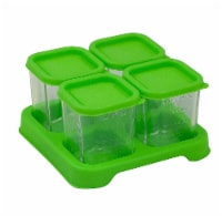 Green Sprouts  Fresh Baby Food Glass Cubes 4 oz Green
