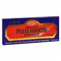 Imperial Elixir Chinese Red Panax Ginseng Extractum - 10 bottles / 10 mL