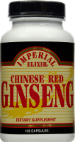 Imperial Elixer Chinese Red Ginseng Dietary Supplement Capsules