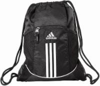 adidas Alliance 2 Sackpack Drawstring Backpack - Black