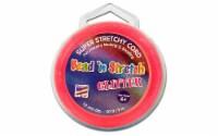 Toner Bead N Stretch Cord 1.2mm Glitter Pink 30ft - 1