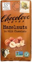 Chocolove Hazelnuts in Milk Chocolate Bar