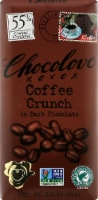 Chocolove Coffee Crunch in Dark Chocolate Bar