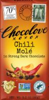 Chocolove Chili Mole Strong Dark Chocolate Bar