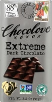 Chocolove Extreme Dark Chocolate Bar