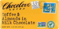 Chocolove Mini Toffee & Almond Milk Chocolate Bar