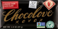 Chocolove Mini Strong Dark Chocolate Bar