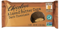 Chocolove Dark Chocolate Almond Butter Cups 2 Count