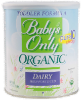 Baby's Only Organic Toddler Formula