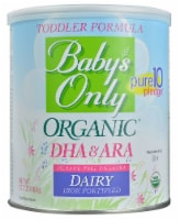 Nature's One  Baby's Only Organic DHA & ARA Toddler Formula