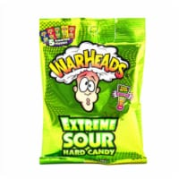 Warheads Extreme Sour Hard Candy Assorted Flavors 2 Oz. (Pack of 3) - 3 Pack/2 Ounce