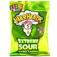Warheads Extreme Sour Hard Candy Assorted Flavors 2oz - 1 Pack/2 Ounce