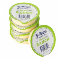 Yo Mama's Foods Keto Ranch Salad Dressing and Dip Cups - (10) 1.5 oz Single Serving Cups - 10 Pack/1.5 Ounce