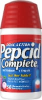 Pepcid Complete Dual Action Berry Flavor Chewable Tablets