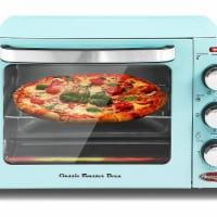 Elite by Maxi-Matic Americana Retro Toaster Oven - Blue