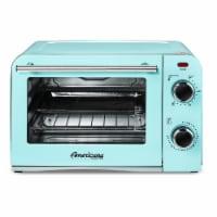 Elite Gourmet Americana Collection Retro 4-Slice Toaster Oven