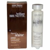 John Frieda Luminous Color Glaze Liquid Shine - Brilliant Brunette