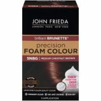 John Frieda 5NBG Chestnut Brown Medium Precision Foam Hair Color - 1 ct
