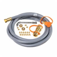 Blackstone Griddle Accessories Propane to Natural Gas Conversion Kit, 10ft Hose - 1 Piece