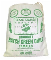 Texas Tamale Company Hatch Green Chile Tamales - 18 oz